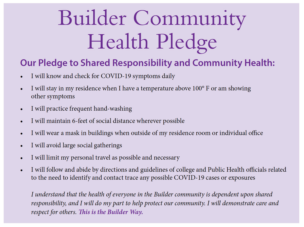 Builder Pledge
