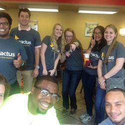 Enactus Team at Nationals, St. Louis, MO - April 2015