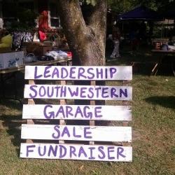Garage Sale Fundraiser 2015