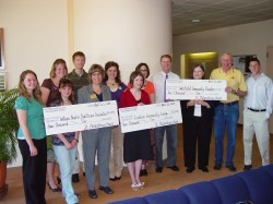 Philanthropy Group Gives Checks