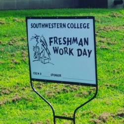 Freshman Work Day 2016