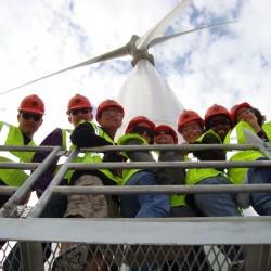Green Team Tour of Flat Ridge Wind Farm