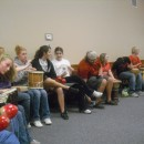 Youth Group Members Playing some more drums