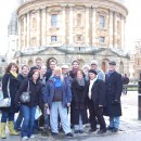The SC Group outside the Radcliffe Camera