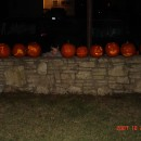 The Results of Pumpkin Carving Night.