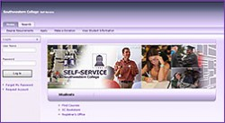 Self-Service Screenshot