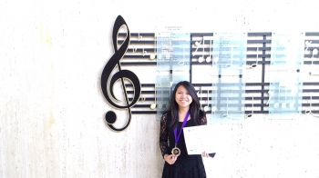 Deborah Winning the KMTA Piano Competition