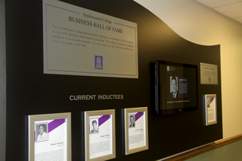 Business HOF Display