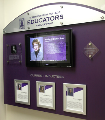 Educators HOF Display