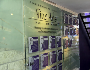 Fine Arts HOF Display