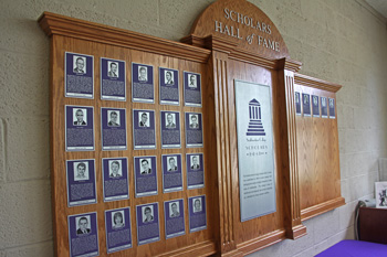 Scholars HOF Display