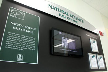 Natural Science HOF Display