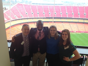 Accounting students at Arrowhead