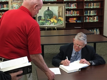 David Nichols Signing Book