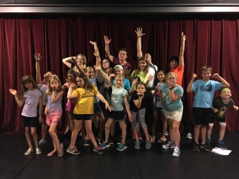 Musical Theatre Performance Camp Group Picture