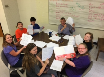 Playwrighting Camp Group