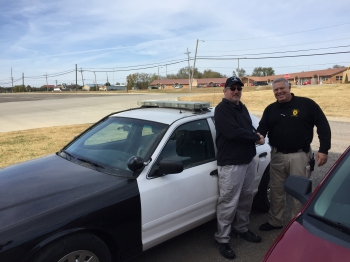 WPD Retired Car Donated