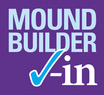 Moundbuilder Check-In Logo