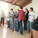 Singing at Holy Comforter