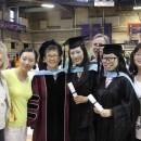 Graduate Hooding and Ceremony 2014